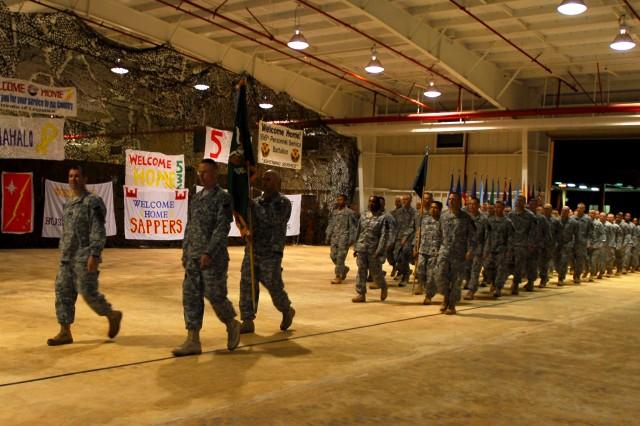 Soldiers Return From Iraq