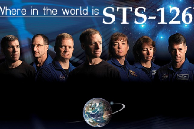 STS 126 travels the world