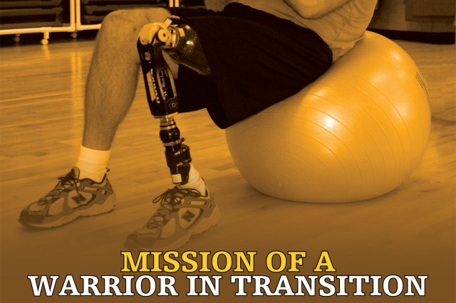 Sgt. Maj. Brent Jurgensen stresses abilities, not disabilities, on Army poster.