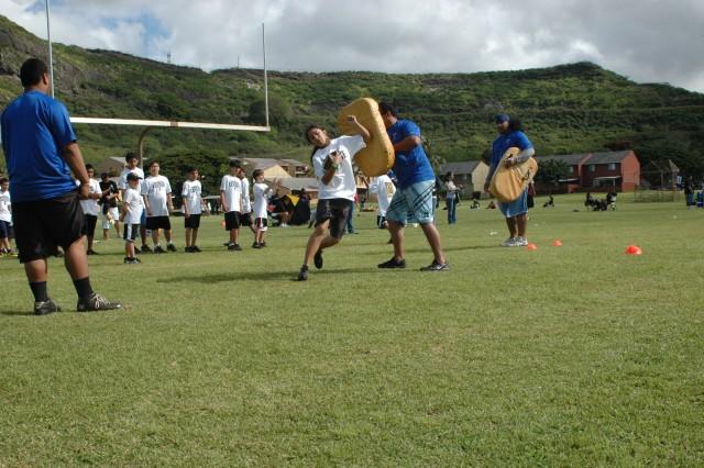 AMR 4th Annual Football Bash Clinic