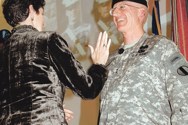 Martin promoted to major general during Friday ceremony
