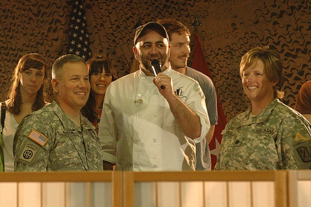 """Ace of Cakes"" Says Thanks to Soldiers and Families"