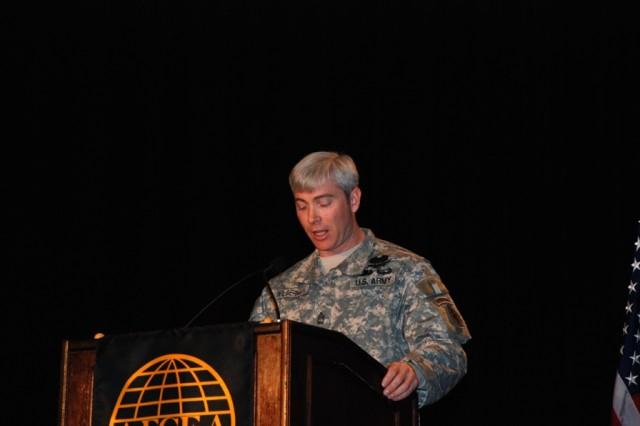 Wilderman speaks with Warfighter Panel