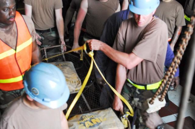 U.S. Navy Mock Casualty Exercise