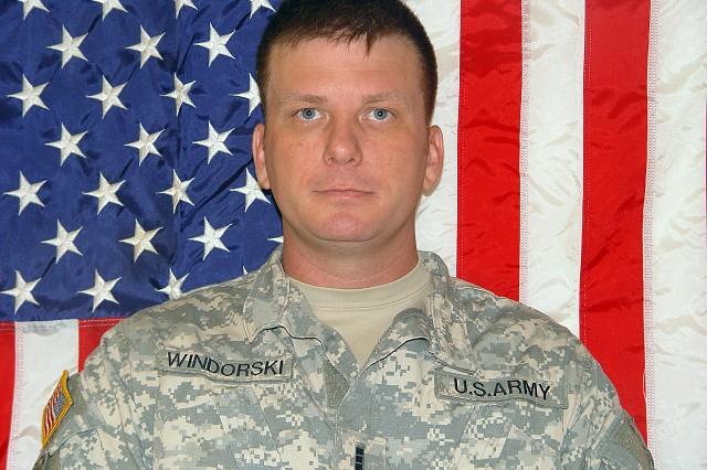 Chief Warrant Officer 3 Philip Windorski.