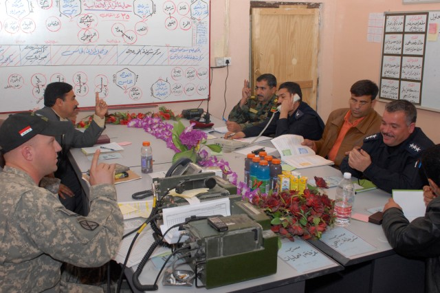 Bayji Joint Coordination Center Monitors Provincial Elections