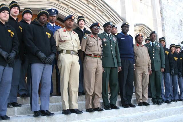 Kenyan leadership visits West Point