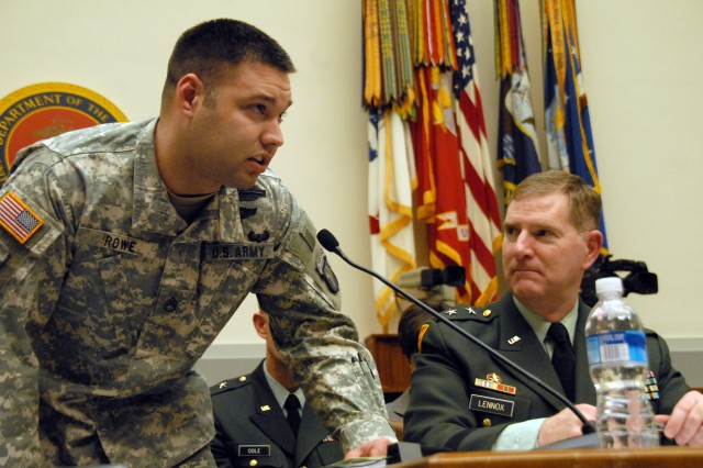 Soldier testifies to Congress on body armor