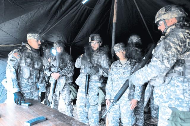 CAB Soldier Training