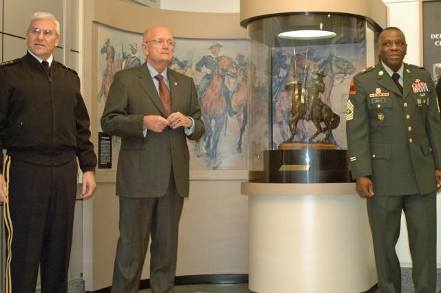Buffalo Soldier Exhibit Rededication