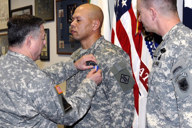 SETAF NCO honored for bravery