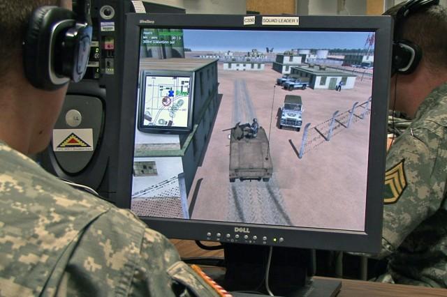 7th Army NCOA Simulation Training