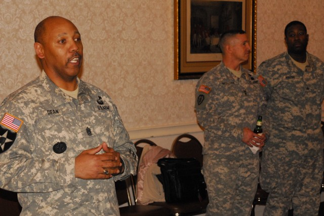 CSM Dean speaks at Fort Meade's Year of the NCO kickoff