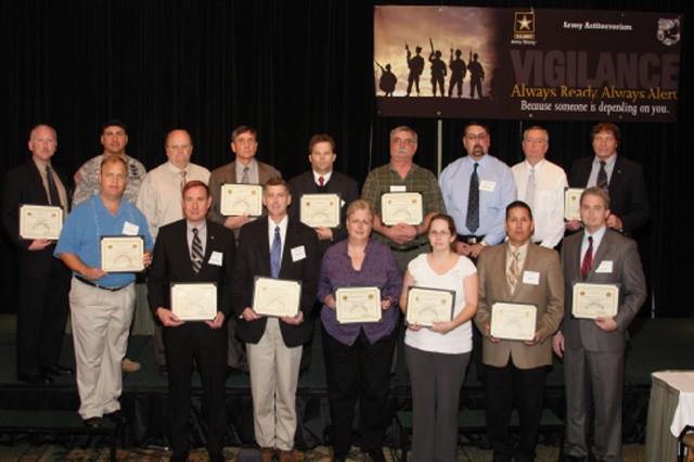 Army 2009 Antiterrorism Program Honor-Roll recipients