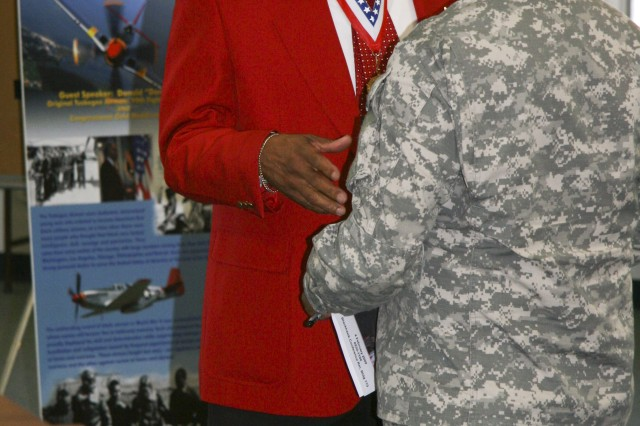 Tuskegee Airman reflects on history of African-Americans in the Army