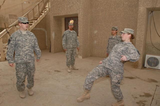 Hacky sack, Iraq style