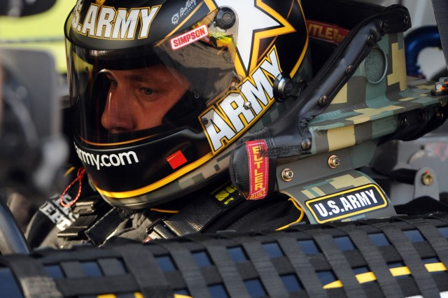 Ryan Newman gets set to debut in the U.S. Army No. 39 Chevrolet during the second Gatorade Duel 150-mile qualifying race for the Daytona 500 on Thursday at Daytona International Speedway. A late-race wreck knocked Newman from the chase, forcing him to resort to a backup car that will start 36th Sunday in the Daytona 500.