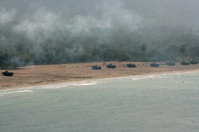 Bilateral Amphibious Assault