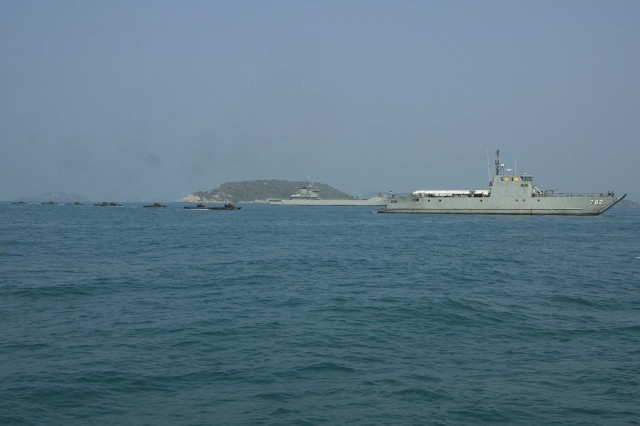 USS Harpers Ferry and the 31st MEU
