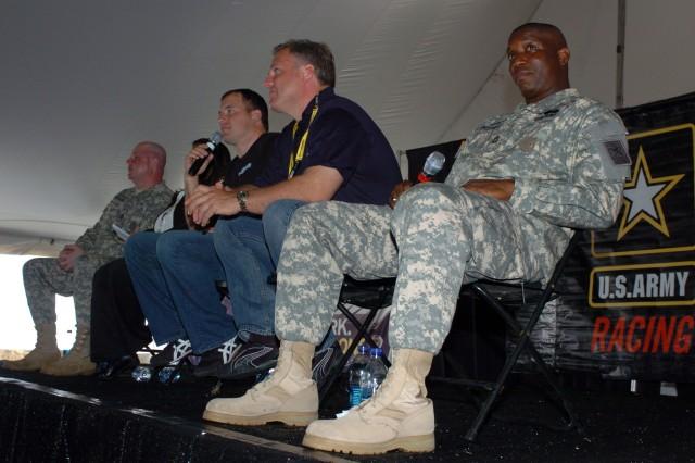 NASCAR Army Educational Program panel