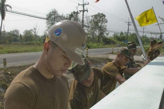 Thai community and partner militaries