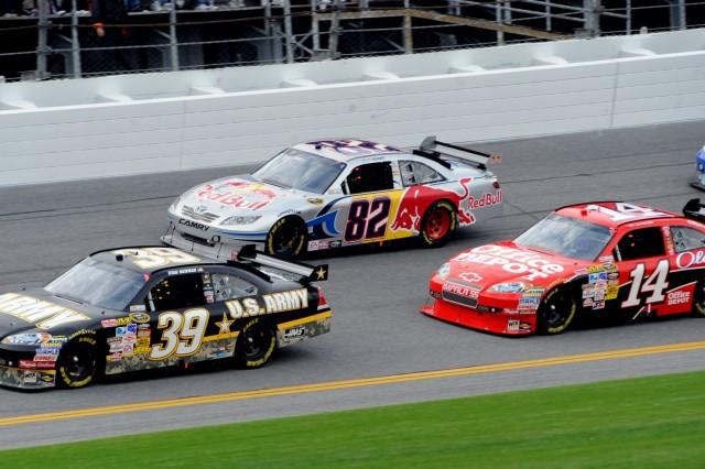 Newman driving Daytona 500