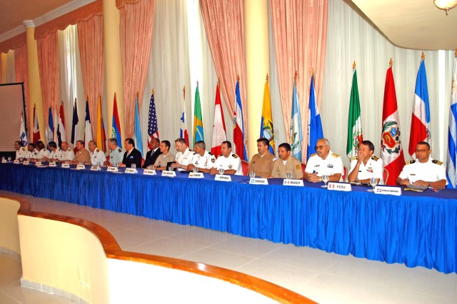 "Leaders representing 19 countries met during the opening ceremony of the ""Fuerzas Aliadas PANAMAX 2009"" Initial Planning Conference (IPC) held in Panama City, Panama last week.  PANAMAX is a multinational, interagency exercise sponsored by U.S. Southern Command that focuses on the defense of the Panama Canal."