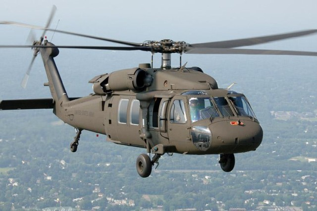 "The Black Hawk is the Army's current and future force utility and medical evacuation helicopter. The Army has more than 1,700 Black Hawks in its fleet, including the UH-60M. The Army Aviation Center of Excellence and Fort Rucker work closely with the Aviation and Missile Command and the Program Executive Office for Aviation to ensure that war fighters have the best possible equipment and training in the Global War On Terrorism. Aviation industry officials – both military and private sector -- discussed issues pertaining to ""Maintaining Aviation Excellence in a Wartime Environment"" during the 35th annual Joseph P. Cribbins Aviation Product Symposium hosted in Huntsville by the Tennessee Valley Chapter of the Army Aviation Association of America."