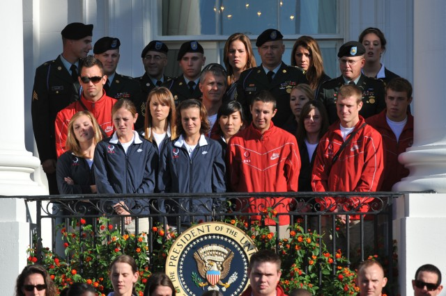 Team USA Soldier Olympians visit White House