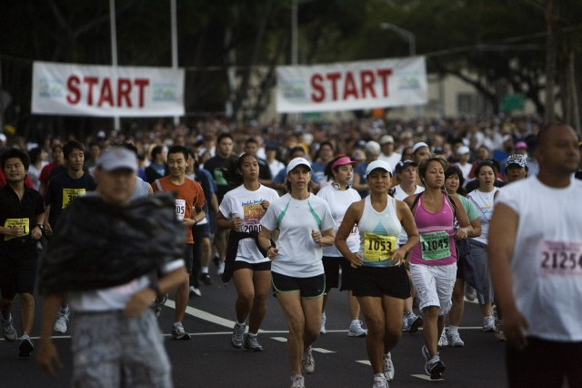 Great Aloha Run Raises Money for Military MWR Funds