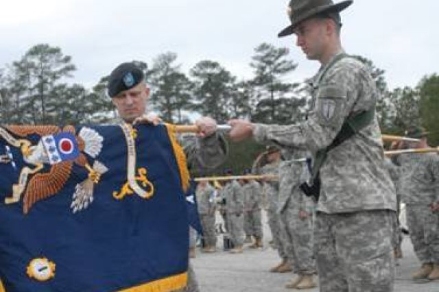 1st Bn., 329th Inf., leaves post, 1st Bn., 330th Inf., arrives
