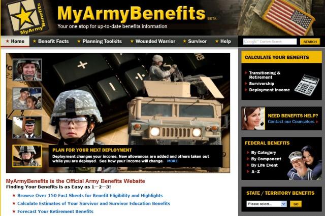 Benefits Web site