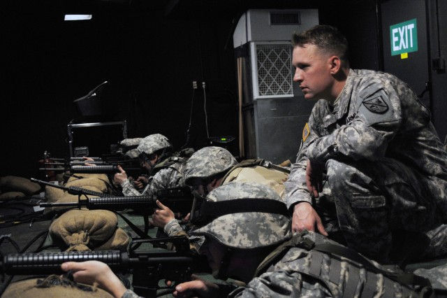 """""""At Drill Sergeant School, we learn that the Army's goal is to accurately engage the enemy with multiple well-aimed shots fired as rapidly as possible,"""" said Church.   """"This is achieved by making Soldiers as comfortable with their"""