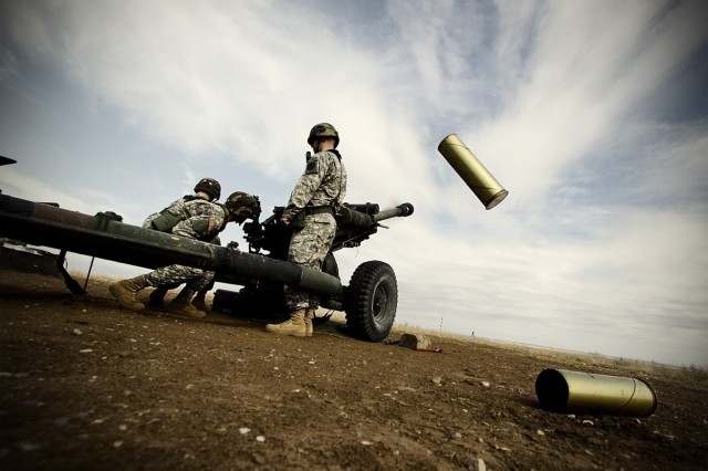 "1st Lt. Andrew H. Kim titled this image, ""Cannon"" and entered it in Division 1, Color, Military Life category."