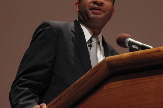 U.S. Rep. Artur Davis delivers Black History Month message