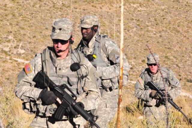 Rifleman Radio exercise, McKelligon Canyon, El Paso, Texas