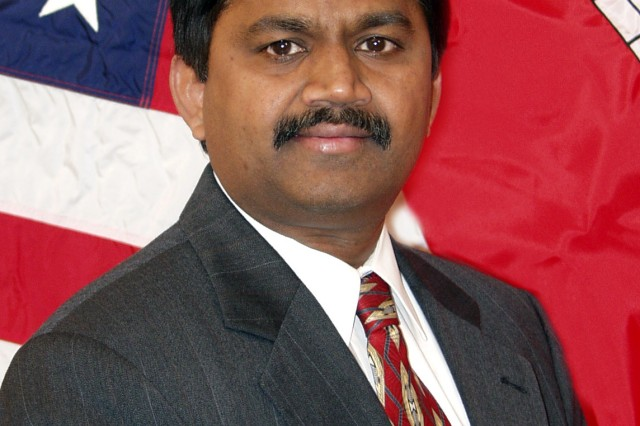 Dr. Kirankumar Topudurti was named 2009 Federal Engineer of the Year by the National Society of Professional Engineers for his work decontaminating groundwater.  He is the deputy director for the Champaign, Ill.-based Construction Engineering Research Laboratory (CERL), part of the U.S. Army Corps of Engineers' Engineer Research and Development Center.