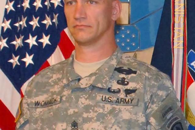 Command Sgt. Maj. Womack