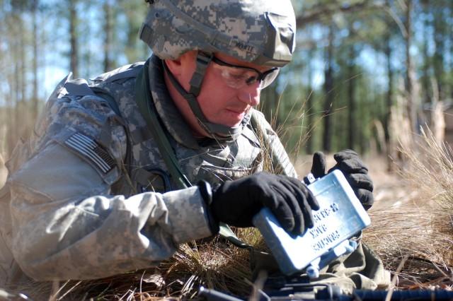 Fort Bragg souts compete