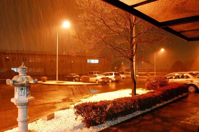 Snowfall welcomes Hawaii-based Soldiers to Japan