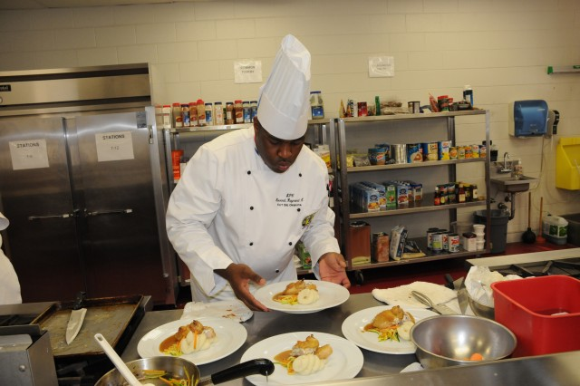 Fort Sill Chefs Compete for Culinary Excellence