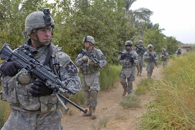 4th SBCT deploying again, File Photo