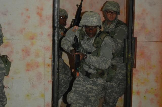 Battle-focused training refreshes warrior skills