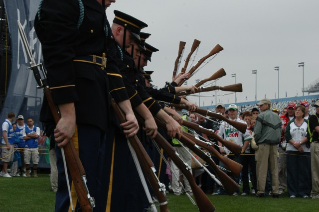 The US Army Drill Team looks forward to the second annual Joint Service Drill Exhibition