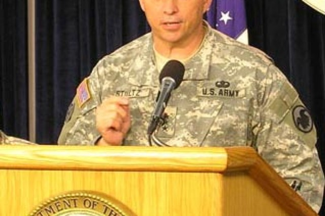 Army Reserve Chief Lt. Gen. Jack C. Stultz