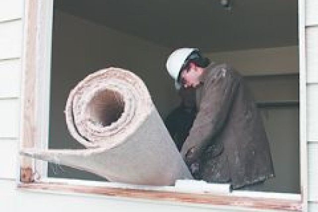 ReStore recovering materials from Fort Riley homes
