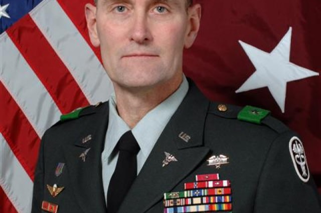 Brig. Gen. Keith Gallagher, commander of Europe Regional Medical Command.