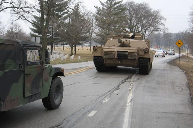 New battle tank rolls into TACOM LCMC Rock Island