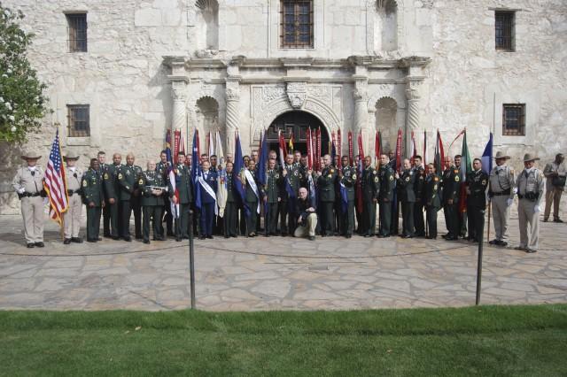 Alamo Memorial - Year of the NCO