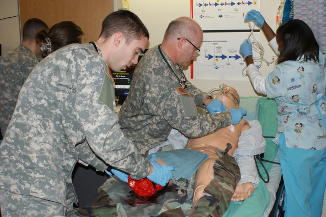 Darnall program leads the way in Simulation Training